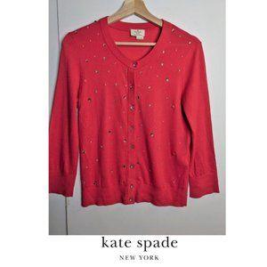 Kate Spade   Night Sky Pink Cardigan